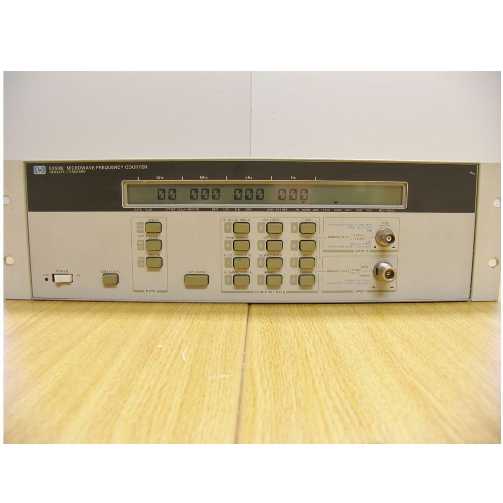 Hp Agilent 5350b Microwave Frequency Counter 10hz 20ghz